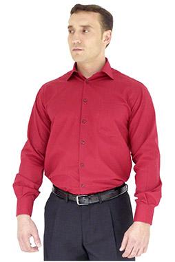 Camisas, Vestir Manga Larga, 102522, RUBI