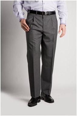 Pantalones, Vestir, 103992, GRIS MEDIO