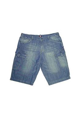 Pantalones, Bermudas, 104144, AZUL MEDIO
