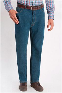 Pantalones, Vaqueros, 104344, INDIGO
