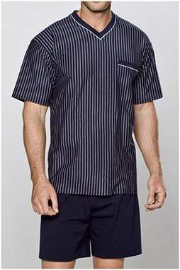 Homewear, Pijama M. Corta, 104363, MARINO