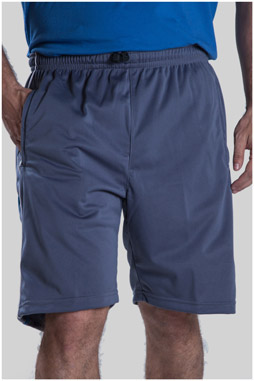 Pantalones, Bermudas, 104778, GRIS MEDIO