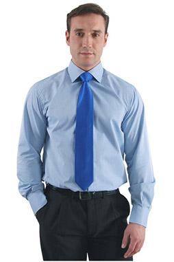 Camisas, Vestir Manga Larga, 105092, AZUL