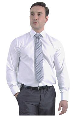 Camisas, Vestir Manga Larga, 105093, BLANCO