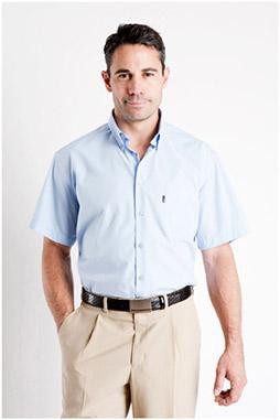 Camisas, Sport Manga Corta, 105748, CELESTE