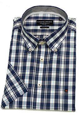 Camisas, Sport Manga Corta, 105927, MARINO