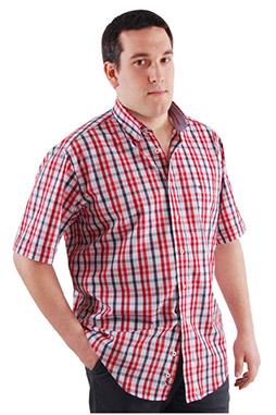Camisas, Sport Manga Corta, 106425, CORAL