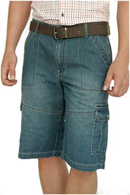 Pantalones, Bermudas, 106440, INDIGO
