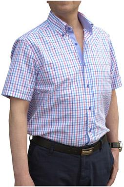 Camisas, Sport Manga Corta, 106474, MARINO