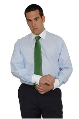 Camisas, Vestir Manga Larga, 106483, CELESTE