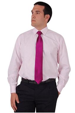 Camisas, Vestir Manga Larga, 106485, ROSA