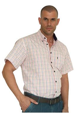 Camisas, Sport Manga Corta, 106494, CORAL