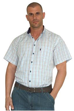 Camisas, Sport Manga Corta, 106494, MARINO