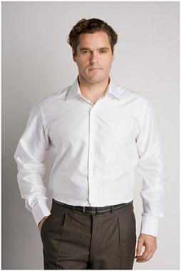 Camisas, Vestir Manga Larga, 106530, BLANCO