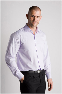 Camisas, Vestir Manga Larga, 106530, MALVA
