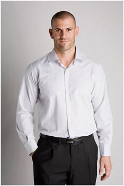 Camisas, Vestir Manga Larga, 106530, PERLA