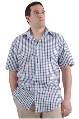 Camisas, Sport Manga Corta, 106567, MARINO