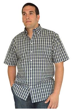 Camisas, Sport Manga Corta, 106568, VERDE