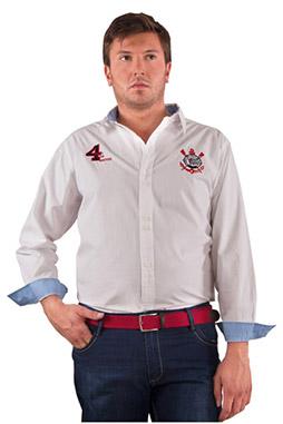Camisas, Sport Manga Larga, 106721, BLANCO