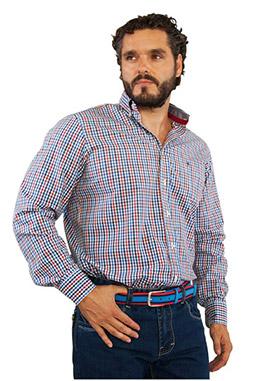 Camisas, Sport Manga Larga, 106728, MARINO