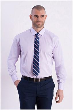 Camisas, Vestir Manga Larga, 106796, ROSA