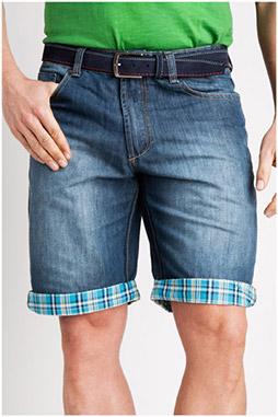 Pantalones, Bermudas, 106836, INDIGO