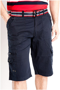 Pantalones, Bermudas, 106839, MARINO
