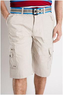 Pantalones, Bermudas, 106839, BEIGE