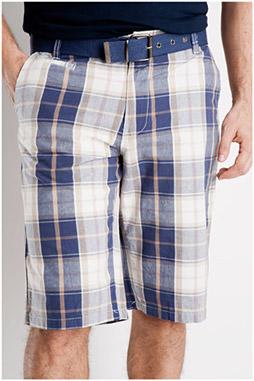 Pantalones, Bermudas, 106842, MARINO