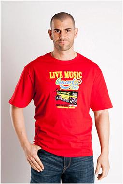 Sport, Camisetas M. Corta, 106847, ROJO