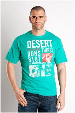 Sport, Camisetas M. Corta, 106848, VERDE
