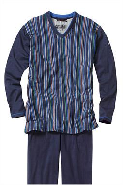 Homewear, Pijama M. Larga, 106874, MARINO