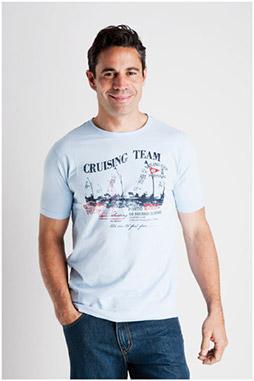 Sport, Camisetas M. Corta, 106991, CELESTE