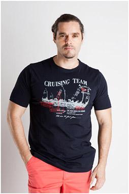 Sport, Camisetas M. Corta, 106991, MARINO