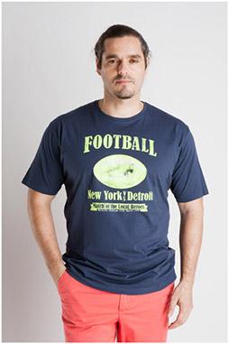 Sport, Camisetas M. Corta, 106995, MARINO