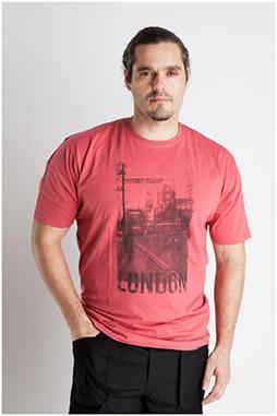 Sport, Camisetas M. Corta, 106998, ROJO