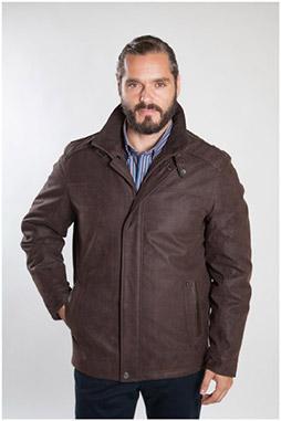 Abrigo, Chaquetones y Piel, 107081, MARRON