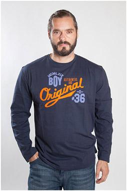 Sport, Camisetas M. Larga, 107093, MARINO