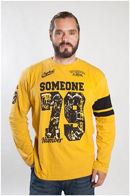 Sport, Camisetas M. Larga, 107094, MOSTAZA