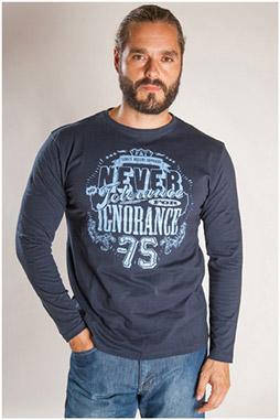 Sport, Camisetas M. Larga, 107095, MARINO