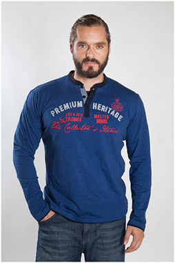 Sport, Camisetas M. Larga, 107096, NOCHE