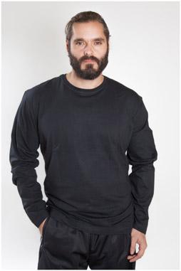 Sport, Camisetas M. Larga, 107097, NEGRO