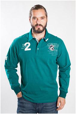 Sport, Polos M. Larga, 107107, VERDE