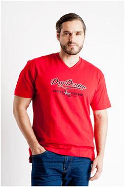 Sport, Camisetas M. Corta, 107117, ROJO