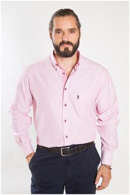 Camisas, Sport Manga Larga, 107156, CORAL
