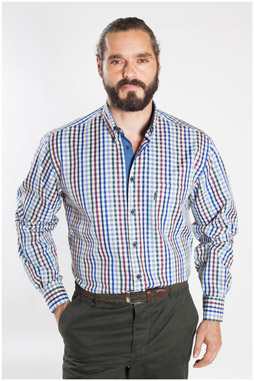 Camisas, Sport Manga Larga, 107163, MARINO
