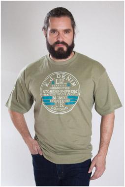 Sport, Camisetas M. Corta, 107180, KAKI