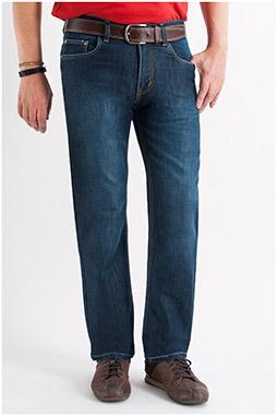 Pantalones, Vaqueros, 107303, INDIGO