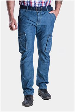 Pantalones, Vaqueros, 107304, INDIGO