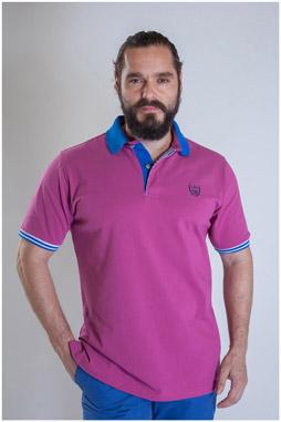 Sport, Polos M. Corta, 107315, FUCSIA